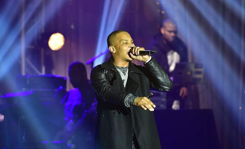 ATLANTA, GA - FEBRUARY 22: Rapper T.I. performs onstage at TIDAL X: TIP at Greenbriar Mall on February 22, 2016 in Atlanta, Georgia. (Photo by Paras Griffin/Getty Images for Tidal)