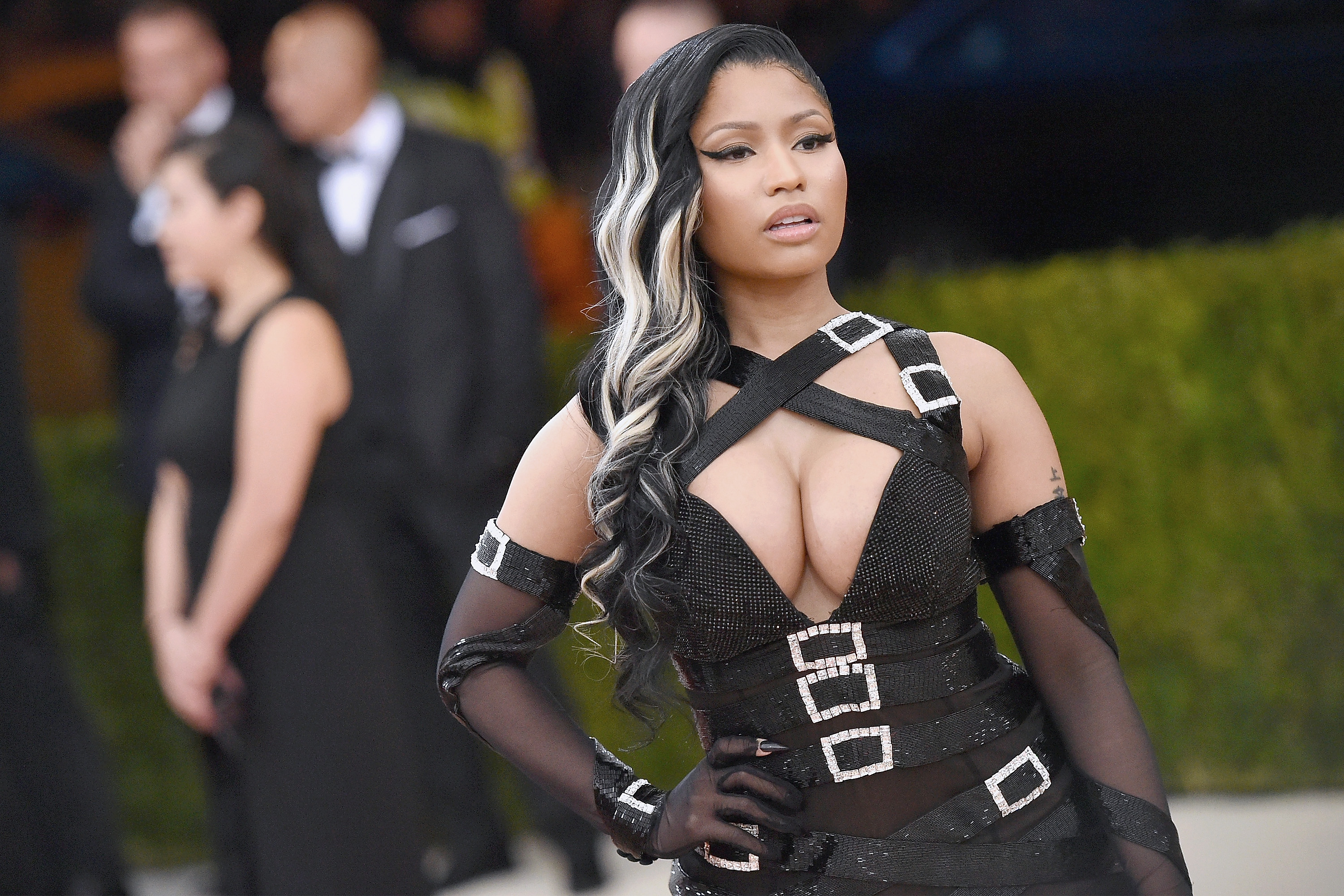 """Nicki Minaj attends the """"Manus x Machina at Metropolitan Museum of Art on May 2, 2016 in New York City. (Photo by Mike Coppola/Getty)"""