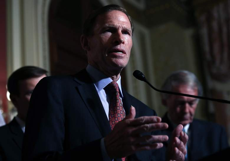 Richard Blumenthal speaks during a press conference on June 16, 2016 at the U.S. Capitol. (Getty)