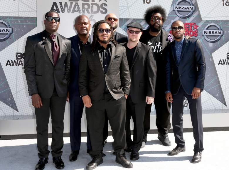 The Roots attend the 2016 BET Awards at the Microsoft Theater on June 26, 2016. (Getty)