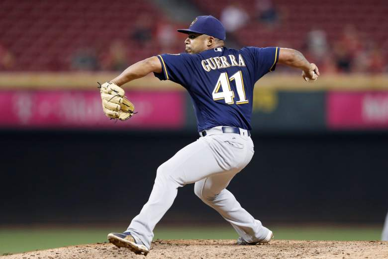 Junior Guerra of the Milwaukee Brewers (Getty)