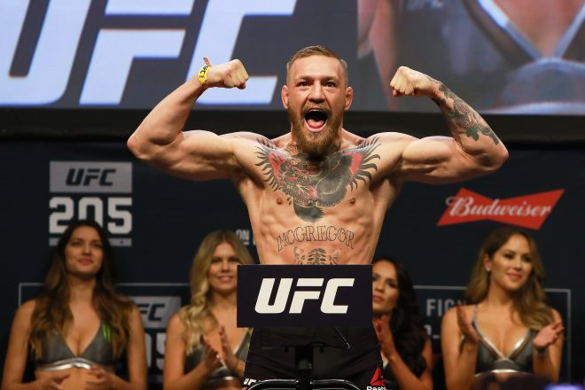 Conor McGregor weigh in, Conor McGregor, conor mcgregor floyd mayweather, mcgregor thumbnail
