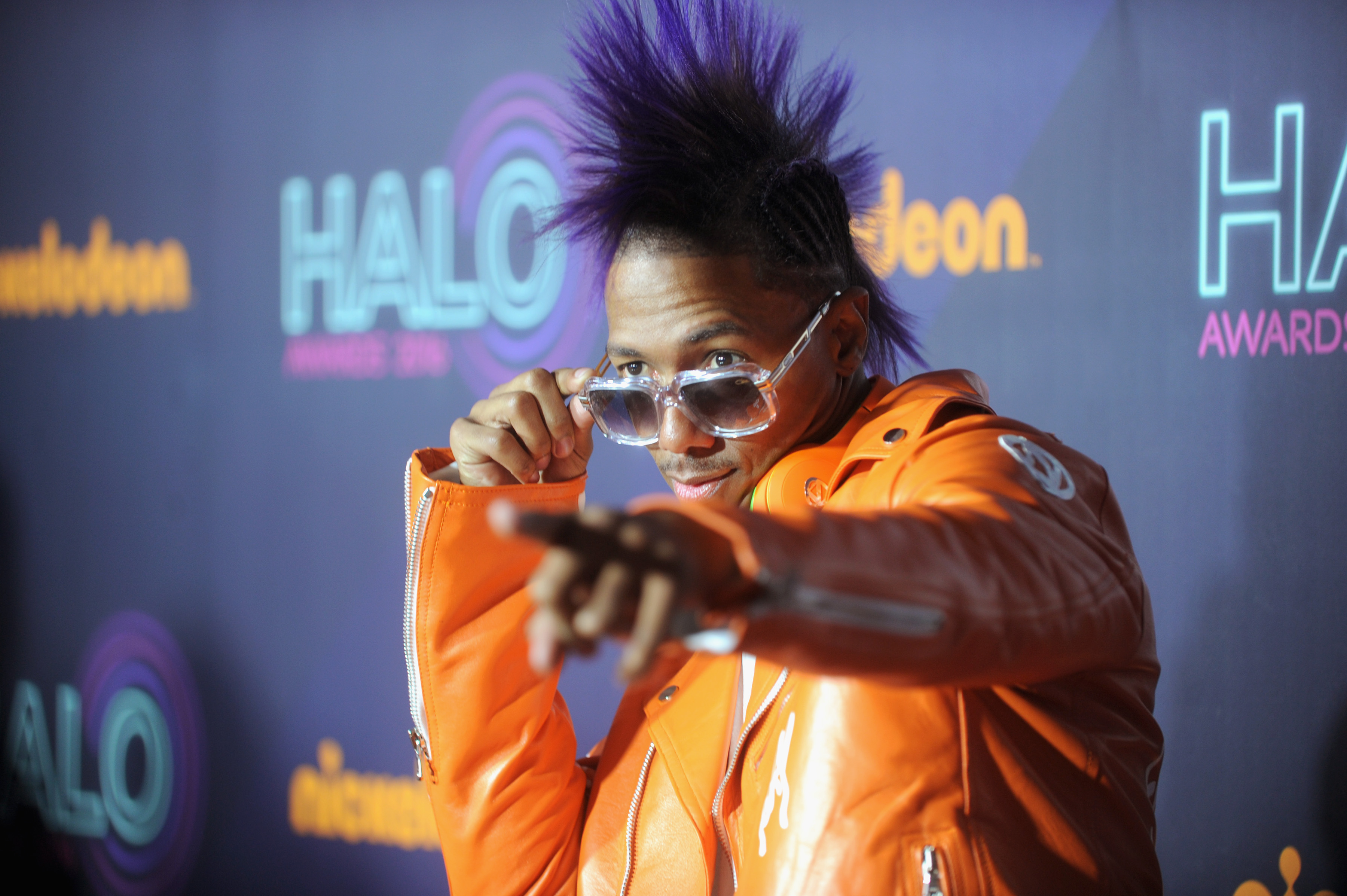 Nick Cannon attends the 2016 Nickelodeon HALO awards on November 11, 2016. (Photo by Brad Barket/Getty Images for Nickelodeon)