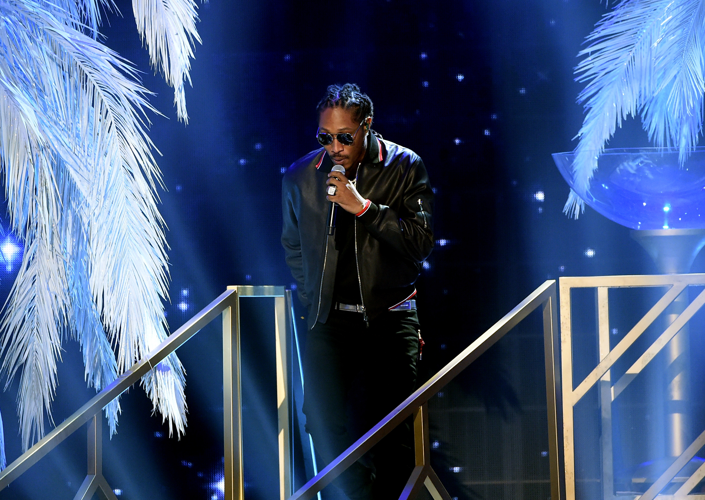 Future performs during the American Music Awards on November 20, 2016 in Los Angeles, California. (Photo by Kevin Winter/Getty)