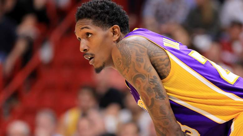 los angeles lakers roster, starting lineup, after lou williams trade, depth chart, corey brewer, who is on team, updated, list of players