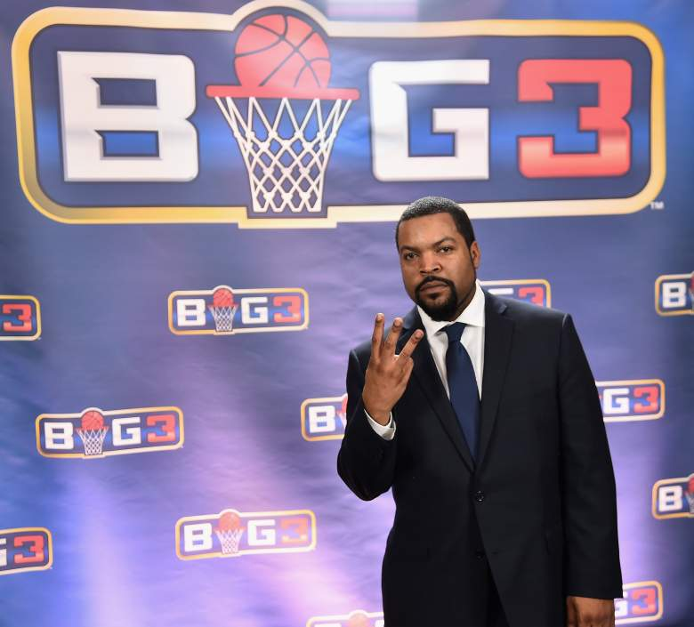 NEW YORK, NY - JANUARY 11: Ice Cube attends a press conference announcing the launch of the BIG3, a new, professional 3-on-3 basketball league, on January 11, 2017 in New York City. (Photo by Michael Loccisano/Getty Images for BIG3)