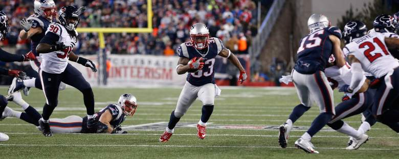 Dion Lewis, Patriots Running Back, Patriots Super Bowl roster