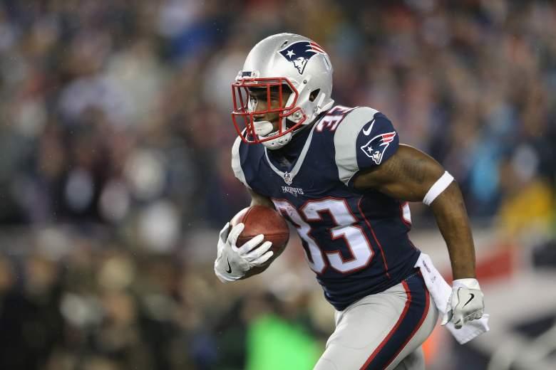 Dion Lewis, Super Bowl Running Back, Patriots Running Back