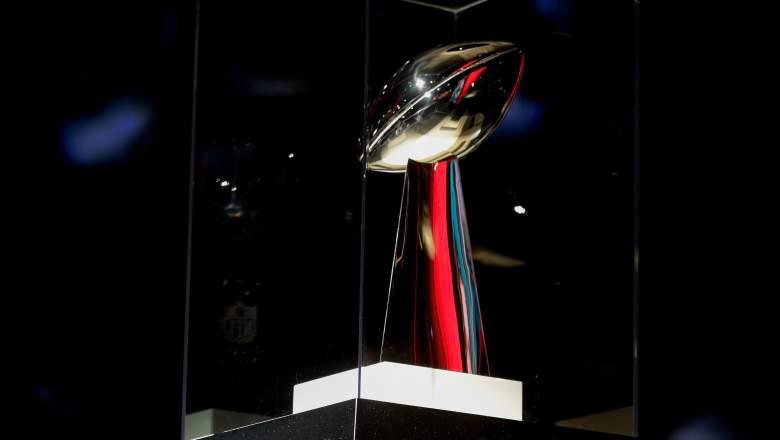Super Bowl Trophy, Super Bowl 2017 trophy, Vince Lombardi Trophy