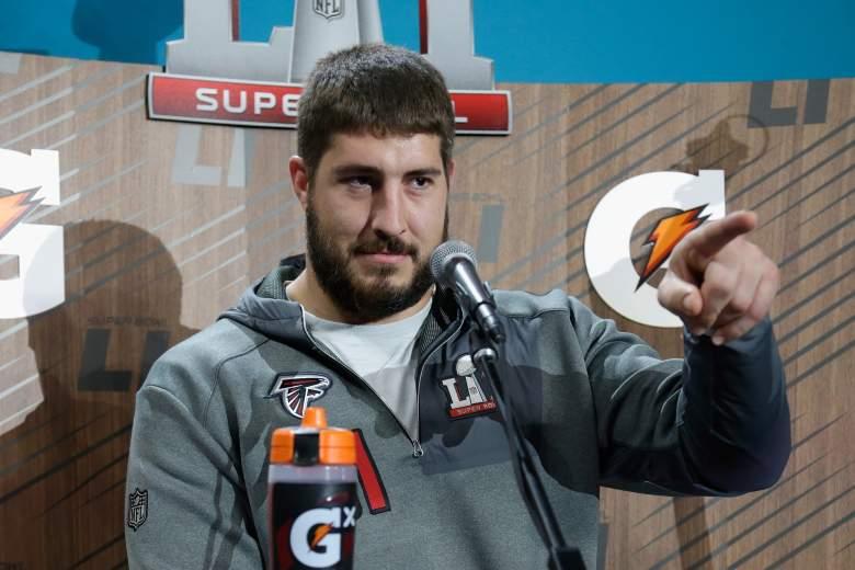 Alex Mack, Falcons Center, Alex Mack injury