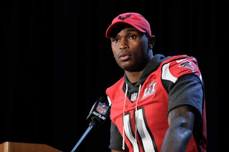 Julio Jones, Atlanta Falcons wide receiver, Julio Jones Super Bowl, Falcons Super Bowl Roster