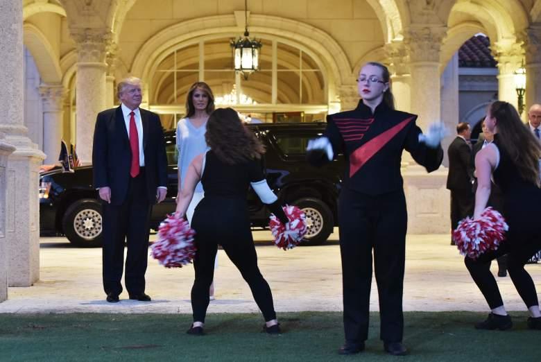 trump super bowl party