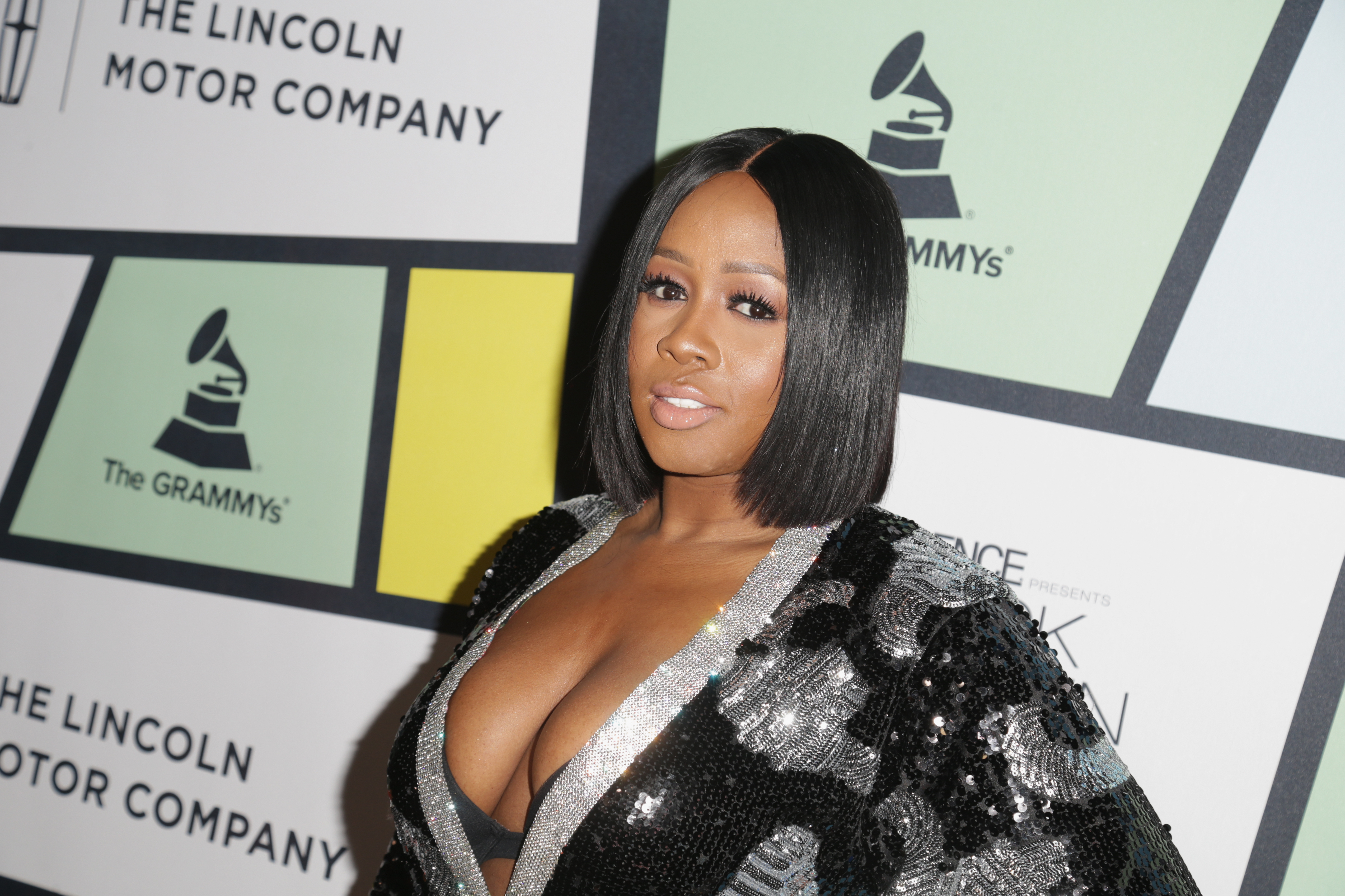 Remy Ma attends 2017 Essence Black Women in Music at NeueHouse Hollywood on February 9, 2017 in Los Angeles, California. (Photo by Leon Bennett/Getty)