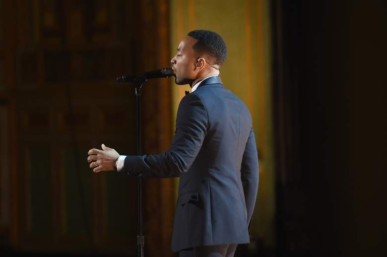Singer John Legend performs onstage at the 48th NAACP Image Awards on February 11. (Getty)