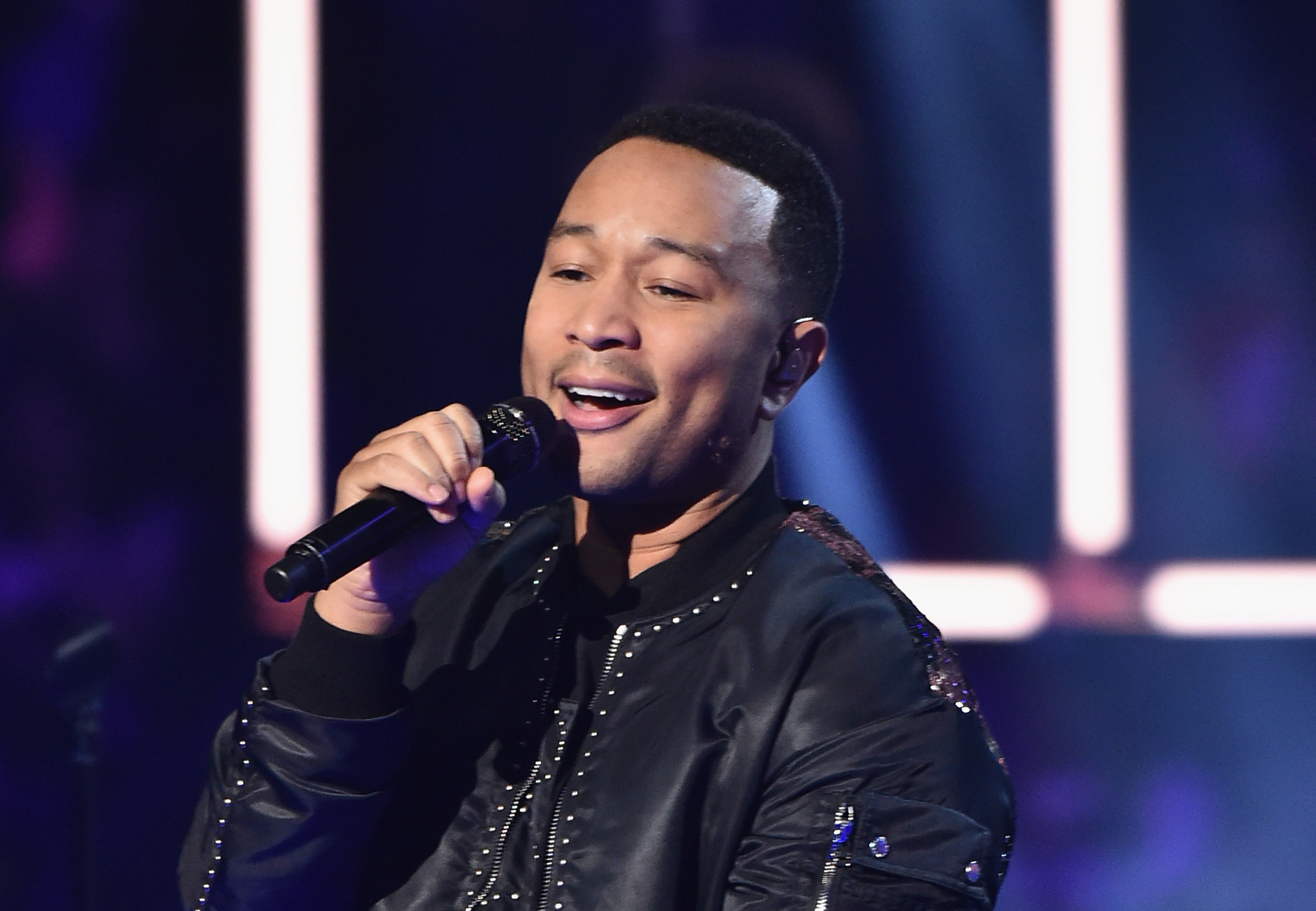 John Legend performs at the 66th NBA All-Star Game on February 19, 2017. (Photo by Theo Wargo/Getty Images)