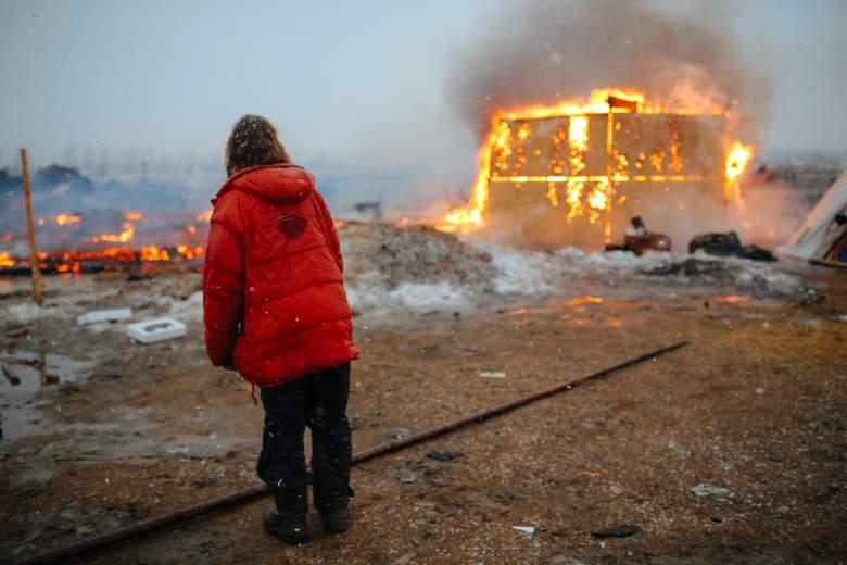 standing rock fires, dapl