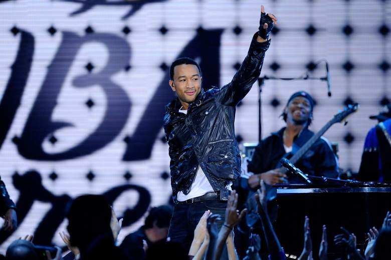 John Legend performs during halftime of the 2009 NBA All-Star Game. (Getty)