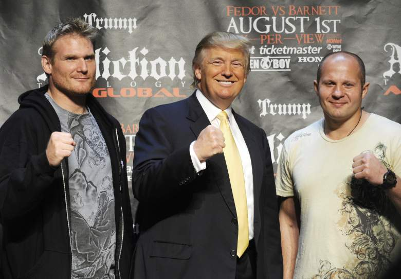 Fedor Trump, Trump Affliction, Fedor Affliction