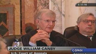 William Canby cspan, William Canby judge, William Canby ninth circuit