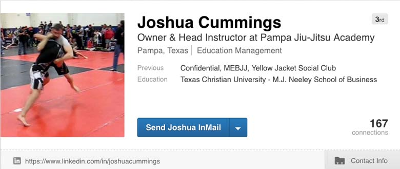 Joshua Cummings LinkedIn