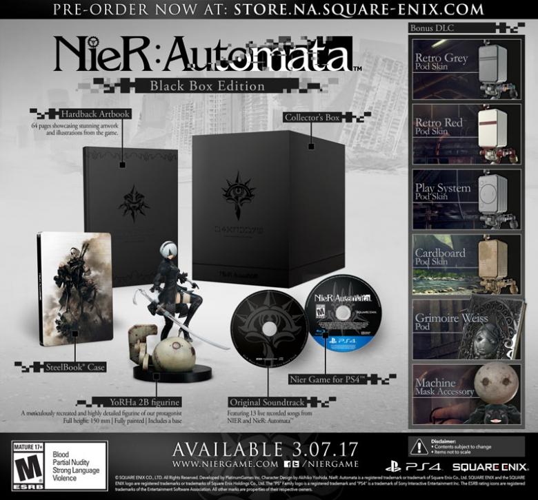 Nier Automata Collector's Edition
