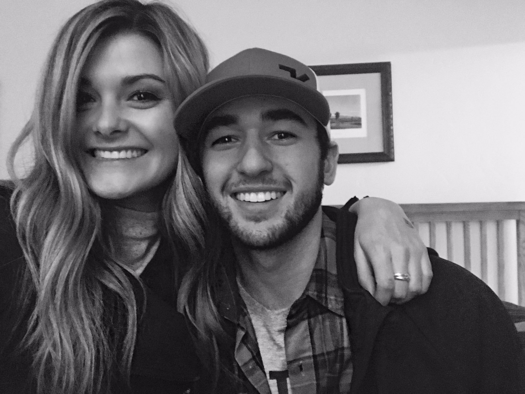 Chase Elliott and his girlfriend, Kaylie Green. (Getty)