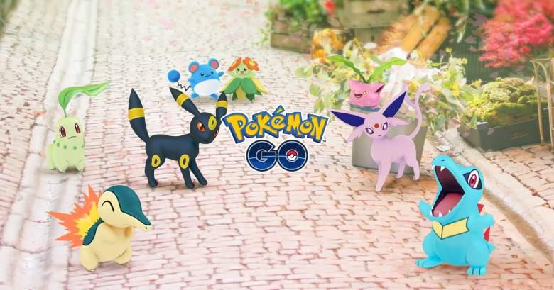 Pokemon Go new pokemon, Pokemon Go generation 2, Pokemon Go new pokemon update