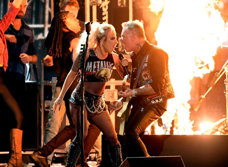 Metallica, Metallica Grammys 2017 Performance, Metallica Microphone Fails, Lady Gaga Grammys 2017 Performance
