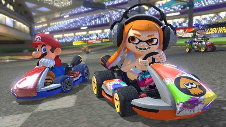 Splatoon, Mario Kart 8 Deluxe, Nintendo Switch