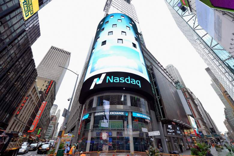 Nasdaq Stock Exchange Times Square