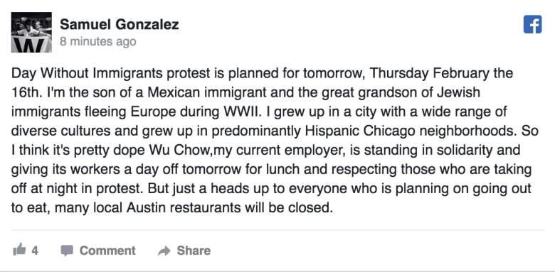 (Facebook/Samuel Gonzalez)