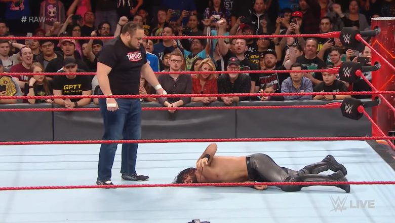 Seth Rollins Samoa Joe, Seth Rollins Samoa Joe injury, seth rollins knee injury