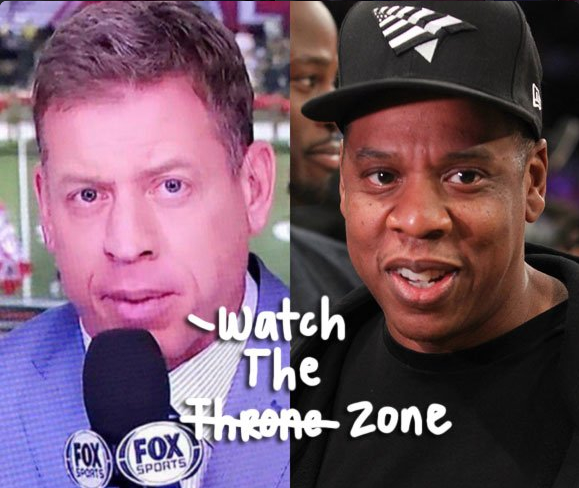 troy aikman, jay-z, memes, best, funny, pictures, look alike, doppelganger, super bowl announcer,