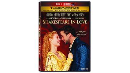 Valentine's day, valentine, valentine gifts, gifts for men, gifts for women, last minute gifts, romantic movies, dvd, Shakespeare in Love