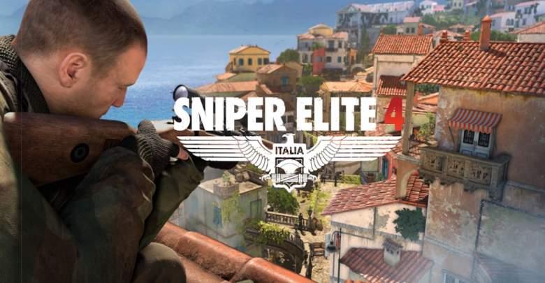 Sniper Elite 4, Sniper Elite 4 game, Sniper Elite game, Sniper Elite Xbox