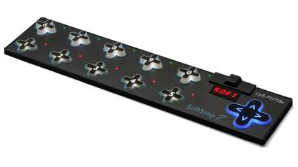 midi foot controller, best midi foot controller, midi footswitch, midi pedal, footswitch