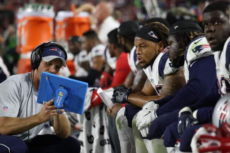 what tablet do coaches use during Super Bowl, super bowl tablet