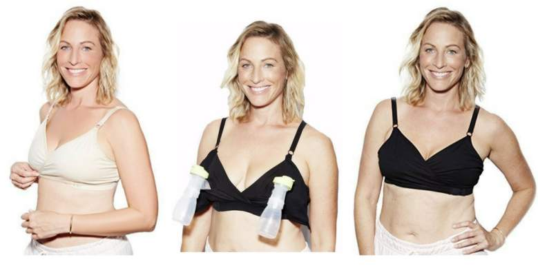 The Dairy Fairy Arden All-in-One Nursing and Hands-Free Pumping Bra