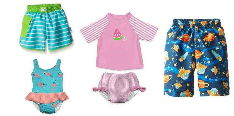 iplay Baby and Toddler Swimsuits with Built-In Swim Diaper