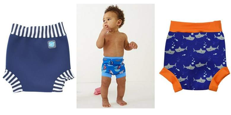Happy Nappy Baby and Toddler Reusable Swim Diaper