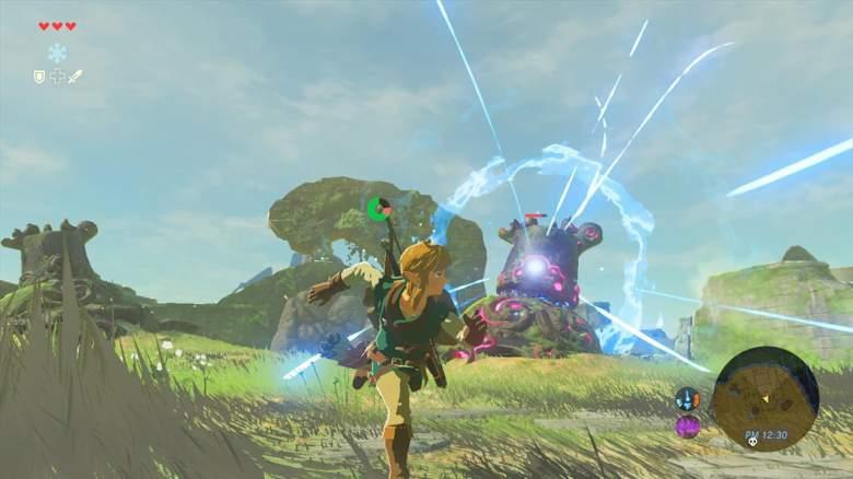 Zelda Screenshot, Zelda Breath of the Wild Screenshot, Zelda HUD