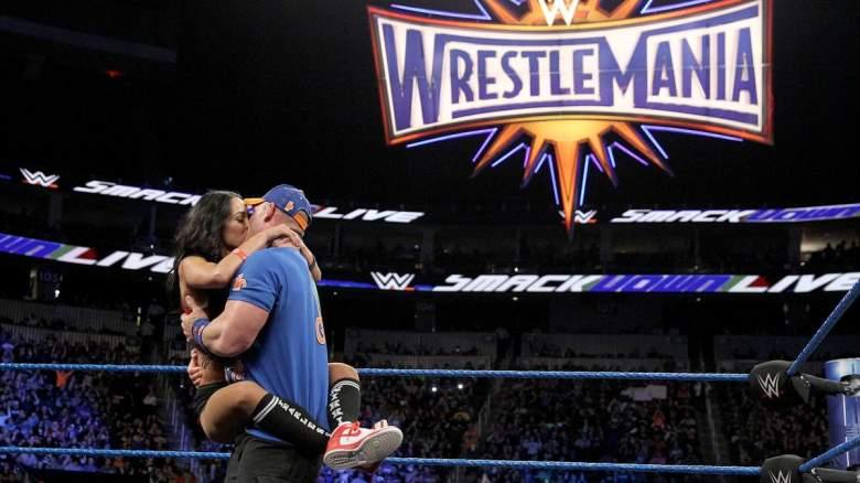 John Cena Nikki Bella, John Cena Nikki Bella smackdown, John Cena Nikki Bella wrestlemania