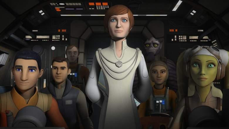 Mon Mothma Rebels, Rebels Secret Cargo, Star Wars Rebels recap