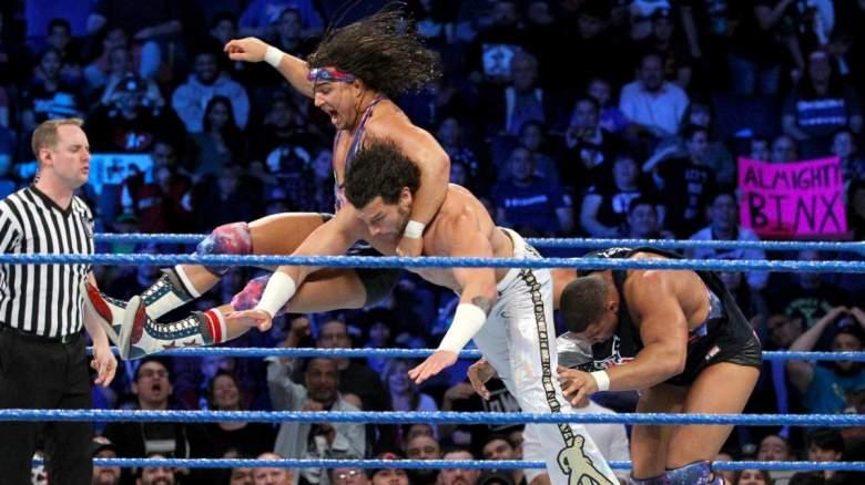 SmackDown Live, SmackDown Live ameircan alpha, SmackDown Live chad gable jason jordan