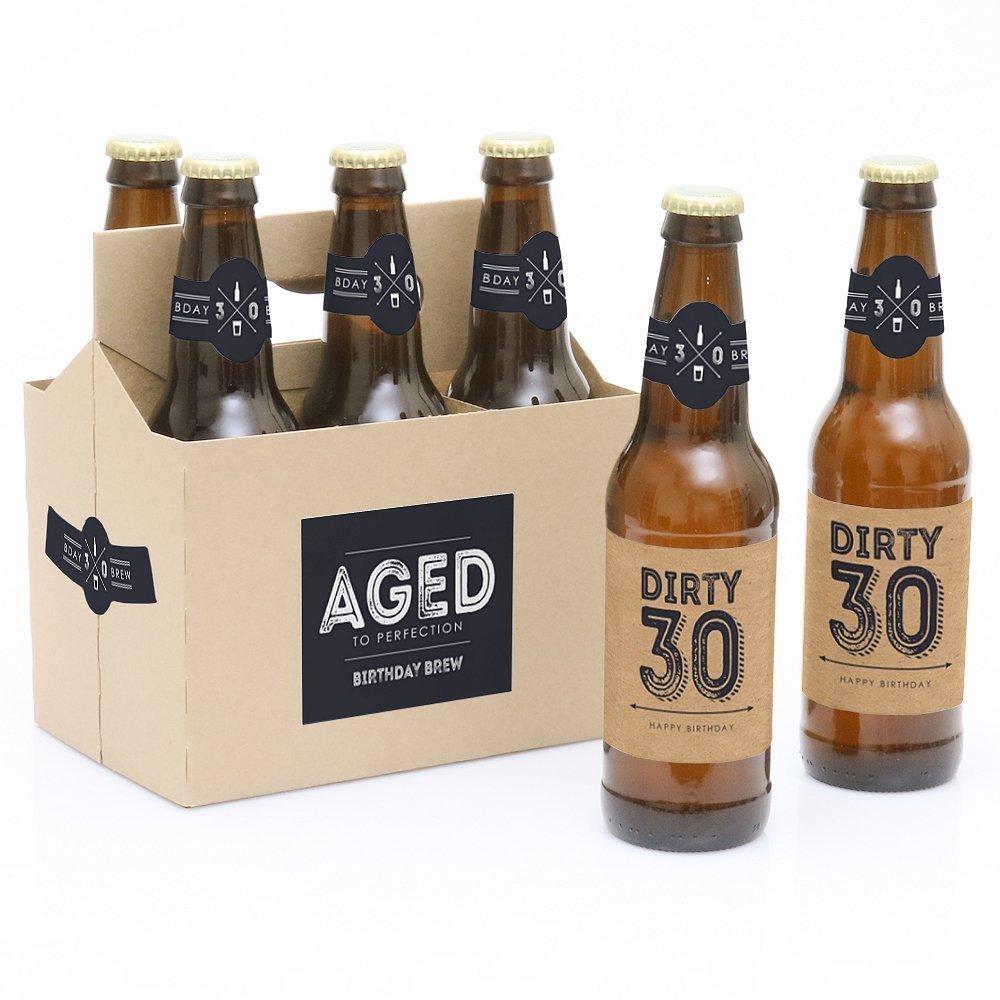 custom birthday beer labels