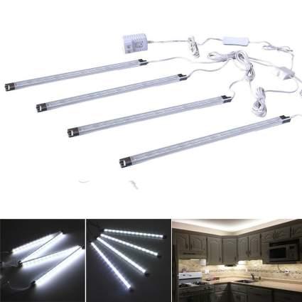 CefrankEfrank Set of 4 LED Light Bar-Under Kitchen Cabinet