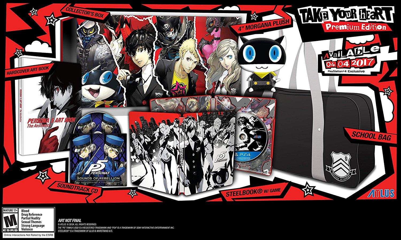 Persona 5 Premium Collector's Edition
