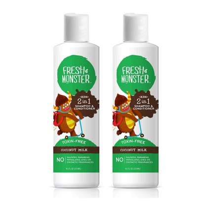 kids organic shampoo and conditioner