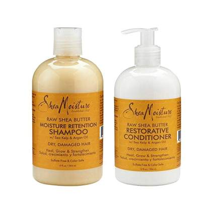 raw shea butter shampoo and conditioner