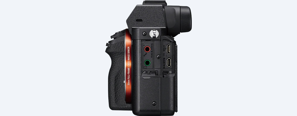 a7s ii, a7s2, best mirrorless, side view, camera